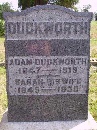DUCKWORTH, ADAM - Meigs County, Ohio | ADAM DUCKWORTH - Ohio Gravestone Photos