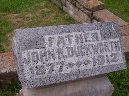 DUCKWORTH, JOHN ROBERT - Meigs County, Ohio | JOHN ROBERT DUCKWORTH - Ohio Gravestone Photos