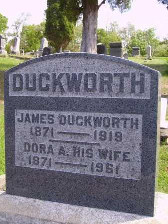 JENKINS DUCKWORTH, DORA A. - Meigs County, Ohio | DORA A. JENKINS DUCKWORTH - Ohio Gravestone Photos