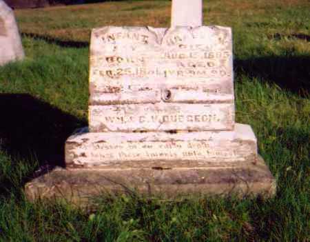 DUDGEON, INFANT SON - Meigs County, Ohio   INFANT SON DUDGEON - Ohio Gravestone Photos