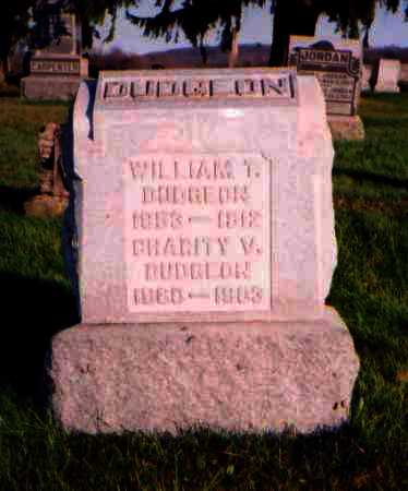 DUDGEON, WILLIAM T. - Meigs County, Ohio | WILLIAM T. DUDGEON - Ohio Gravestone Photos