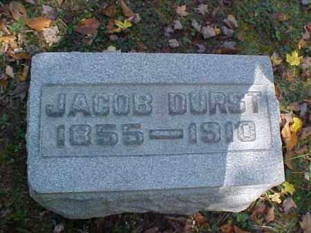 DURST, JACOB - Meigs County, Ohio | JACOB DURST - Ohio Gravestone Photos