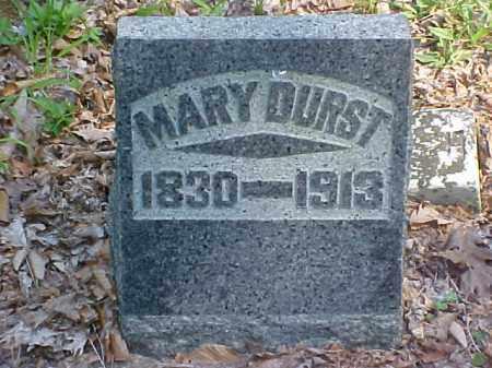 DURST, MARY - Meigs County, Ohio   MARY DURST - Ohio Gravestone Photos