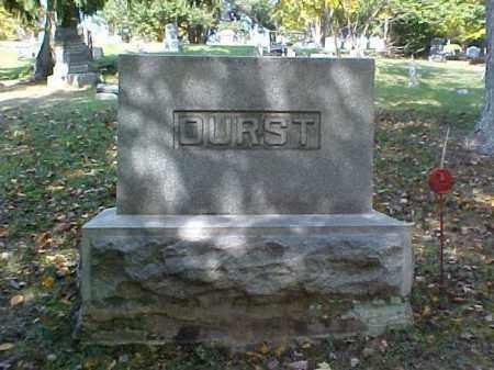 DURST, MONUMENT - Meigs County, Ohio   MONUMENT DURST - Ohio Gravestone Photos