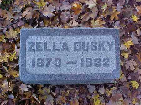 DUSKY, ZELLA - Meigs County, Ohio | ZELLA DUSKY - Ohio Gravestone Photos
