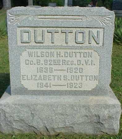 STANSBURY DUTTON, ELIZABETH S. - Meigs County, Ohio | ELIZABETH S. STANSBURY DUTTON - Ohio Gravestone Photos
