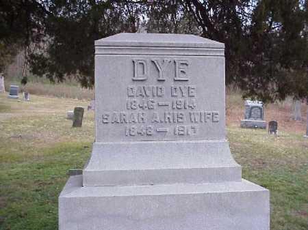 DYE, SARAH A. - Meigs County, Ohio | SARAH A. DYE - Ohio Gravestone Photos