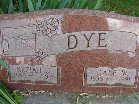 DYE, KEZIAH J - Meigs County, Ohio | KEZIAH J DYE - Ohio Gravestone Photos