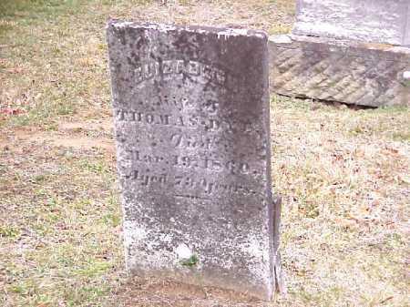 DYE, ELIZABETH - Meigs County, Ohio   ELIZABETH DYE - Ohio Gravestone Photos