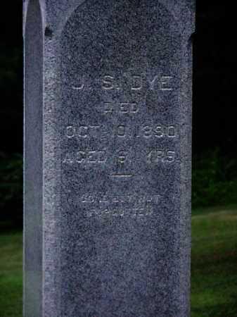 DYE, JOSEPH SHELDON - CLOSEVIEW - Meigs County, Ohio   JOSEPH SHELDON - CLOSEVIEW DYE - Ohio Gravestone Photos