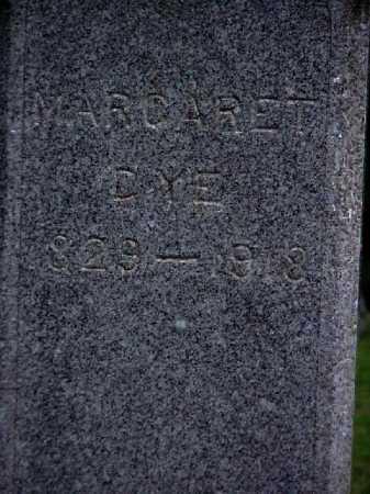 DYE, MARGARET - Meigs County, Ohio | MARGARET DYE - Ohio Gravestone Photos