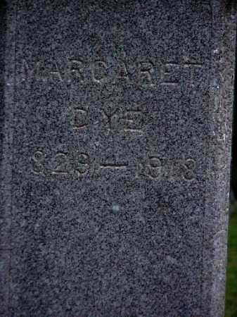 MCCLURE DYE, MARGARET - Meigs County, Ohio | MARGARET MCCLURE DYE - Ohio Gravestone Photos