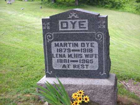DYE, MARTIN - Meigs County, Ohio | MARTIN DYE - Ohio Gravestone Photos