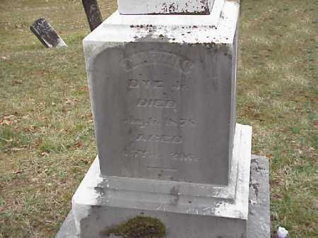 DYE, MARTIN JR. - Meigs County, Ohio | MARTIN JR. DYE - Ohio Gravestone Photos
