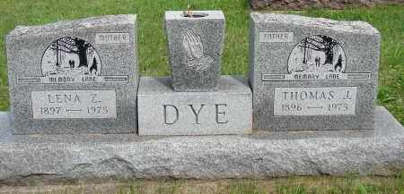 DYE, LENA Z - Meigs County, Ohio | LENA Z DYE - Ohio Gravestone Photos