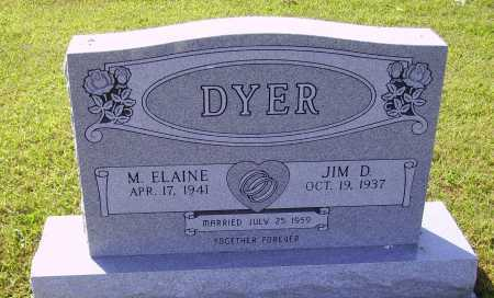 DYER, JIM D. - Meigs County, Ohio | JIM D. DYER - Ohio Gravestone Photos