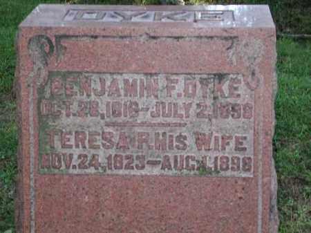 DYKE, TERESA P. - Meigs County, Ohio | TERESA P. DYKE - Ohio Gravestone Photos