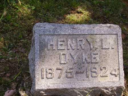 DYKE, HENRY L. - Meigs County, Ohio | HENRY L. DYKE - Ohio Gravestone Photos