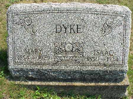 DYKE, ISAAC - Meigs County, Ohio | ISAAC DYKE - Ohio Gravestone Photos