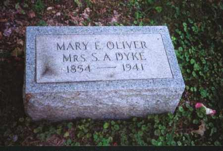 DYKE, MARY E. - Meigs County, Ohio | MARY E. DYKE - Ohio Gravestone Photos