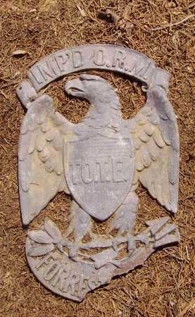 EAGLE EMBLEM, EMBLEM - Meigs County, Ohio | EMBLEM EAGLE EMBLEM - Ohio Gravestone Photos