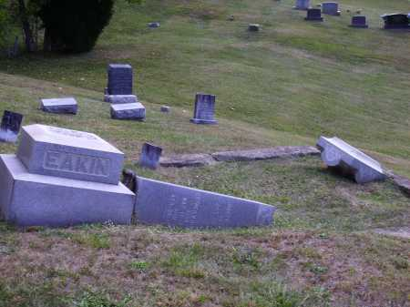 LASLEY EAKIN, ESTHER MADALINE - OVERALL VIEW - Meigs County, Ohio | ESTHER MADALINE - OVERALL VIEW LASLEY EAKIN - Ohio Gravestone Photos