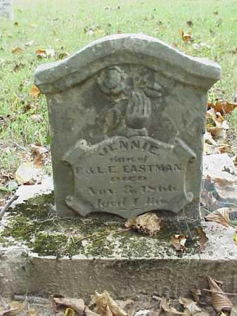 EASTMAN, JENNIE - Meigs County, Ohio | JENNIE EASTMAN - Ohio Gravestone Photos