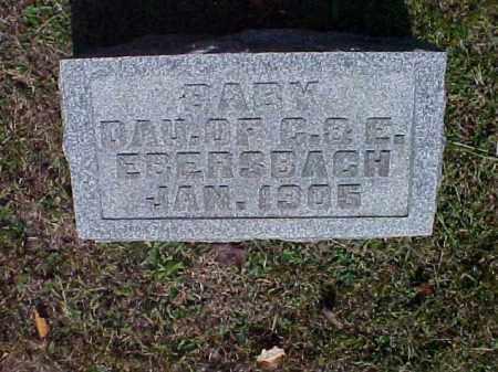 EBERSBACH, BABY - Meigs County, Ohio | BABY EBERSBACH - Ohio Gravestone Photos