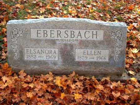 EBERSBACH, ELSANORA - Meigs County, Ohio   ELSANORA EBERSBACH - Ohio Gravestone Photos