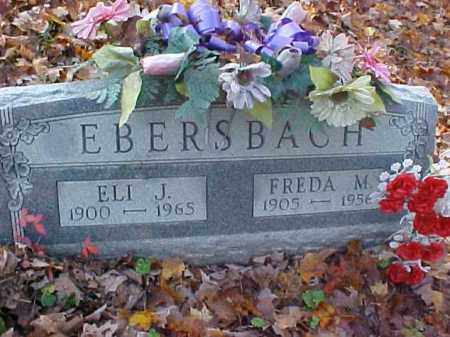 EBERSBACH, FREDA M. - Meigs County, Ohio | FREDA M. EBERSBACH - Ohio Gravestone Photos