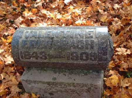 EBERSBACH, VALENTINE - Meigs County, Ohio   VALENTINE EBERSBACH - Ohio Gravestone Photos