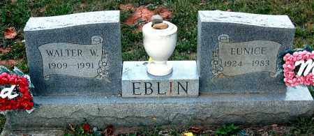 EBLIN, EUNICE - Meigs County, Ohio | EUNICE EBLIN - Ohio Gravestone Photos