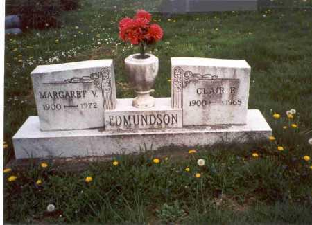 EDMUNDSON, CLAIR F. - Meigs County, Ohio | CLAIR F. EDMUNDSON - Ohio Gravestone Photos