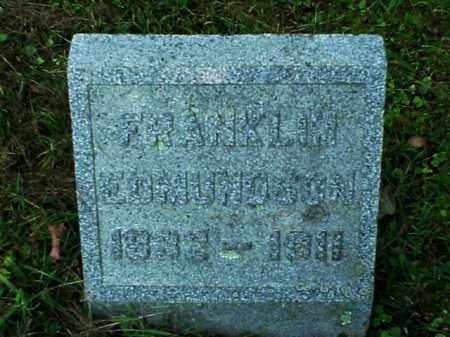 EDMUNDSON, FRANKLIN - Meigs County, Ohio   FRANKLIN EDMUNDSON - Ohio Gravestone Photos