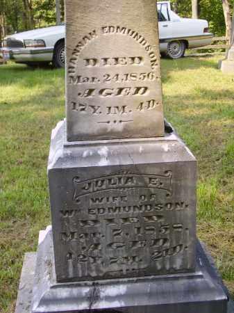 EDMUNDSON, HANNAH - Meigs County, Ohio | HANNAH EDMUNDSON - Ohio Gravestone Photos