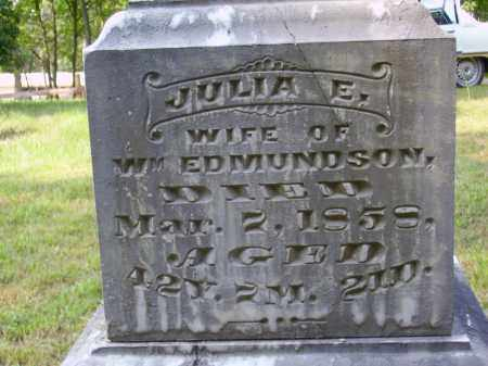 ISONHOUR EDMUNDSON, JULIA [CLOSE VIEW] - Meigs County, Ohio | JULIA [CLOSE VIEW] ISONHOUR EDMUNDSON - Ohio Gravestone Photos