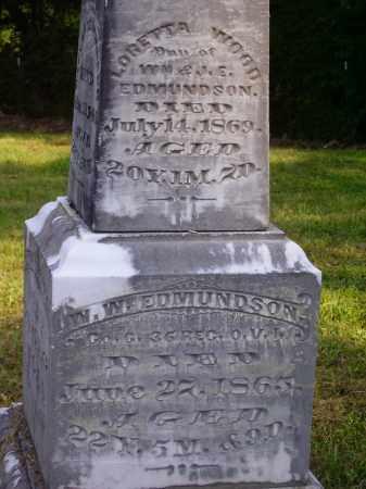 EDMUNDSON, LORETTA WOOD - Meigs County, Ohio | LORETTA WOOD EDMUNDSON - Ohio Gravestone Photos