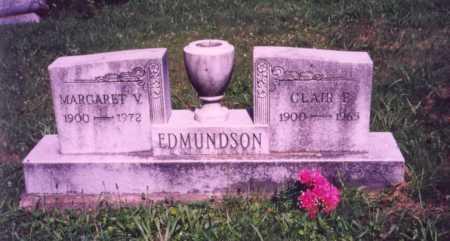 EDMUNDSON, MARGARET V. - Meigs County, Ohio | MARGARET V. EDMUNDSON - Ohio Gravestone Photos