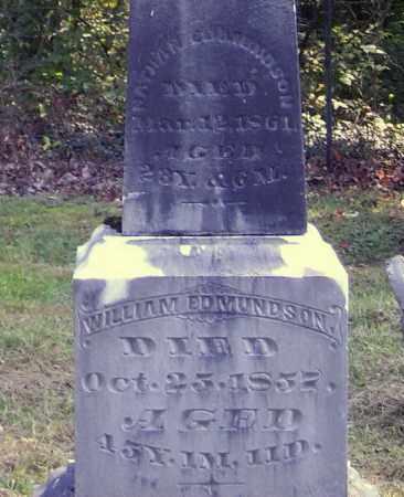 EDMUNDSON, WILLIAM - Meigs County, Ohio | WILLIAM EDMUNDSON - Ohio Gravestone Photos