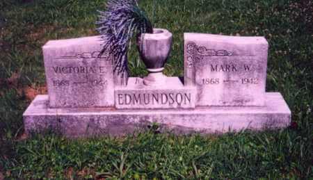 EDMUNDSON, VICTORIA E. - Meigs County, Ohio | VICTORIA E. EDMUNDSON - Ohio Gravestone Photos