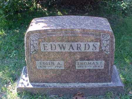JOHNSON EDWARDS, EDITH AMANDA - Meigs County, Ohio | EDITH AMANDA JOHNSON EDWARDS - Ohio Gravestone Photos