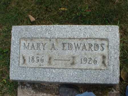 EDWARDS, MARY A. - Meigs County, Ohio   MARY A. EDWARDS - Ohio Gravestone Photos