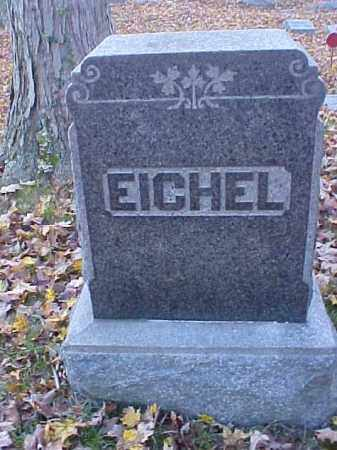 EICHEL, MONUMENT - Meigs County, Ohio | MONUMENT EICHEL - Ohio Gravestone Photos