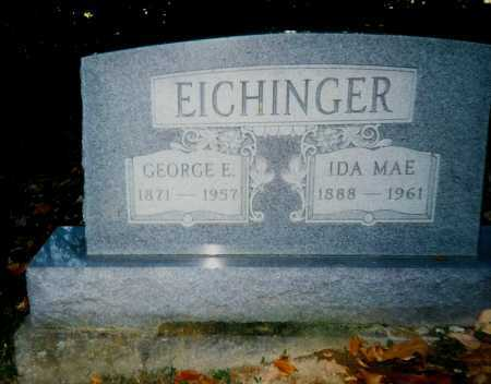 EICHINGER, IDA MAE - Meigs County, Ohio | IDA MAE EICHINGER - Ohio Gravestone Photos