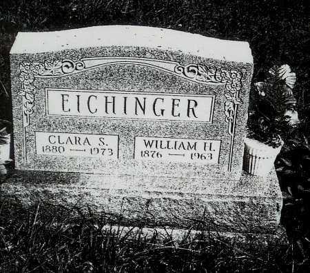 PARTLOW EICHINGER, CLARA S. - Meigs County, Ohio | CLARA S. PARTLOW EICHINGER - Ohio Gravestone Photos