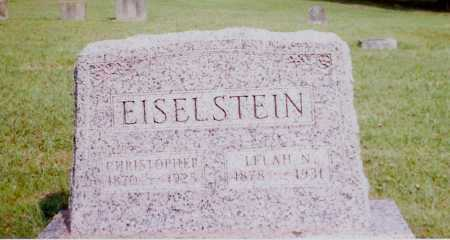 EISELSTEIN, CHRISTOPHER - Meigs County, Ohio | CHRISTOPHER EISELSTEIN - Ohio Gravestone Photos