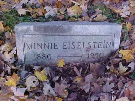 EISELSTEIN, MINNIE - Meigs County, Ohio | MINNIE EISELSTEIN - Ohio Gravestone Photos