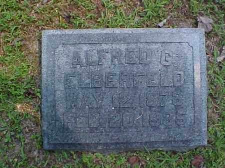 ELBERFELD, ALFRED G. - Meigs County, Ohio | ALFRED G. ELBERFELD - Ohio Gravestone Photos