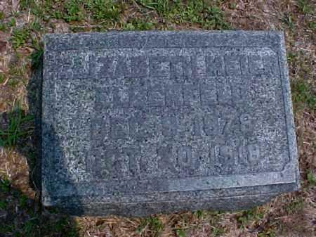 MEIER ELBERFELD, ELIZABETH - Meigs County, Ohio | ELIZABETH MEIER ELBERFELD - Ohio Gravestone Photos