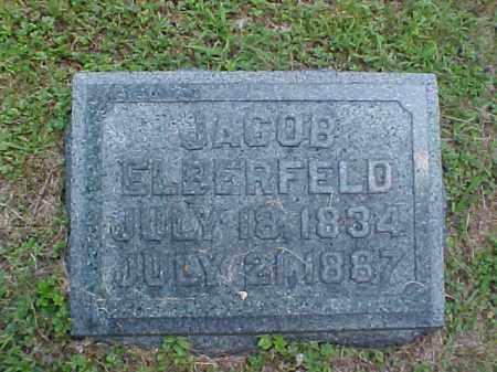 ELBERFELD, JACOB - Meigs County, Ohio | JACOB ELBERFELD - Ohio Gravestone Photos